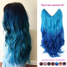 Find More Hair Weaves Information about One piece 20 inch brazilian natural wave ombre color invisible hair extension synthetic flip in hair extension fish line hair,High Quality hair vacuum,China silver hair shampoo Suppliers, Cheap silver string from Fantasy Hair on Aliexpress.com