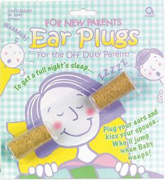 Ear Plugs for New Parents