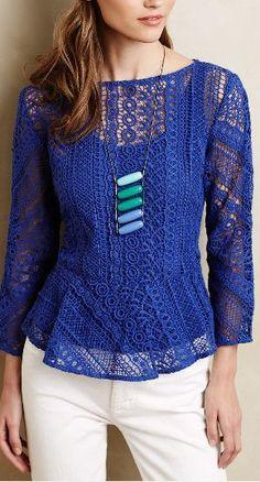 ethene lace blouse