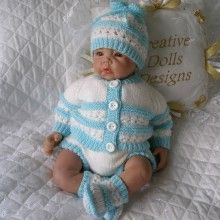 "17 - 22"" Doll, 0-3 Month Baby #110"