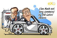 Bill Gates, co-founder of America's most valuable company and one of the world's leading philanthropists, just bought himself a new Porsche Taycan. Guess who's not impressed? The post Cartoon of the Week: Bill Gates bought a Porsche, to Elon Musk's apparent irritation appeared first on eXo Platform Blog.
