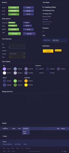 Редизайн игрового портала 101XP.com, часть вторая — Дизайн-кабак (RU) — Medium