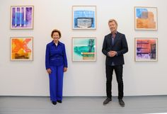 "Magne Furuholmen attends a press call for the ""Texture"" exhibition made in support of The Queen Sonja Print Award at Paul Stolper Gallery on September 27, 2016 in London, England."