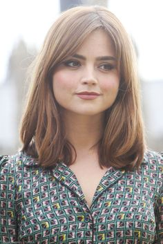 Jenna Coleman - always my hair inspiration - Looking for Hair Extensions to…