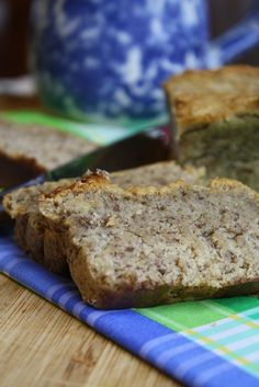 Classic Banana Bread | Tessa the Domestic Diva - gluten free, vegan, sugar free options