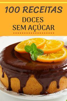 Good Foods For Diabetics, Good Healthy Recipes, Low Calorie Recipes, Diabetic Recipes, Sugar Free Sweets, Sugar Free Recipes, Chef Recipes, Sweets Recipes, Desserts