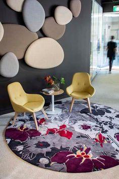 Beautiful design  - Akira Isogawa's new 'Hirameki' range for Designer Rugs.