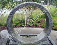 Stone Wheel Fountain