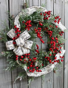 Christmas Front Door wreath