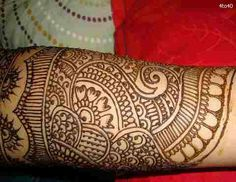 Lucknow Bridal Mehndi Designs Stock Photo: Wedding Image, Wedding Henna Designs Picture