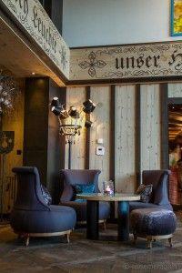 Lobby at Hotel #Ermitage in #Schoenried #Gstaad #Switzerland