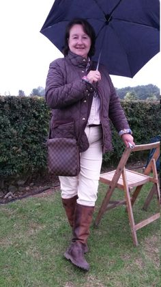 We love this equestrian look modelled by Julie Morris from North Ferriby. It's classic, simple and it works beautifully. Julie Morris, Quilted Jacket, Barbour, Good Old, Well Dressed, Dapper, Equestrian, Leather Boots, Leather Handbags