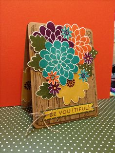 Stampin' Up! Flower Patch