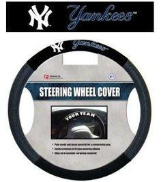 New York Yankees Steering Wheel Cover - Mesh