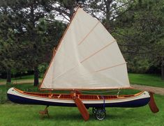sail kits for era Grumman canoe Canoe Camping, Canoe And Kayak, Canoe Trip, Boat Building Plans, Boat Plans, Utility Boat, Wooden Canoe, Small Sailboats, Scouting