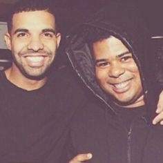 Their smiles omg love them so much @champagnepapi @ilovemakonnen