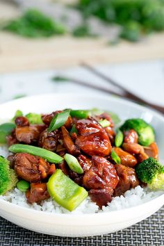 Simple Chicken Teriyaki Stir Fry | http://cafedelites.com