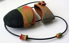 Polymer clay purse by Bits of Clay
