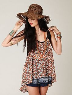 hippie style for the summer. Gypsy Style, Hippie Style, Bohemian Style, Boho Chic, Style Me, Hippie Chick, Boho Hippie, Boho Fashion, Fashion Beauty