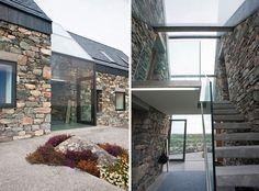 Restauradas Casas de piedra en Galway por Peter Legge, Gardenista