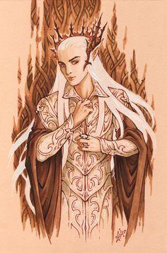 Elven Seducer by Candra.deviantart.com on @deviantART