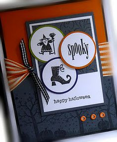 Super cute Halloween card
