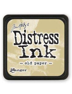 Mini Distress Ink - Old Paper