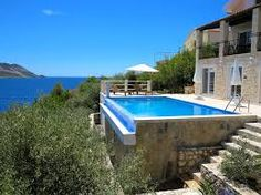 Image result for infinity pools in a terraced garden