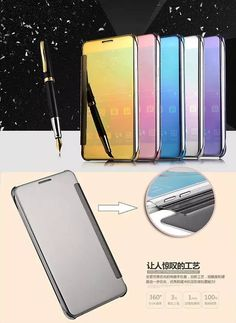 Mirror Shiny Bling Ultra Thin PU Leather Smart View Flip Case Cover For Samsung Galaxy A9  Worldwide delivery. Original best quality product for 70% of it's real price. Buying this product is extra profitable, because we have good production source. 1 day products dispatch from...