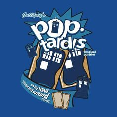 Could Gallifrey's Pop-TARDIS Time Lord Pastries be any worse than fish fingers and custard? I think not!