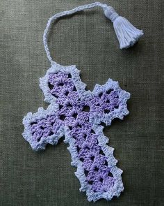 Maggie's Crochet · Cross Bookmarks in Thread Crochet Pattern #crochet ...