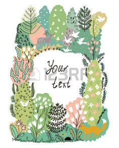 forest illustration - Google Search