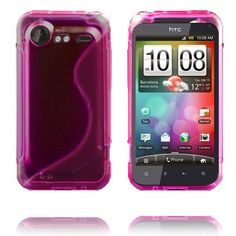S-Line Transparent (Pink) HTC Incredible S Cover
