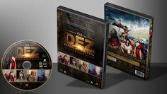 Os Dez Mandamentos - O Filme - Capa | VITRINE - Galeria De Capas - Designer Covers Custom | Capas & Labels Customizados