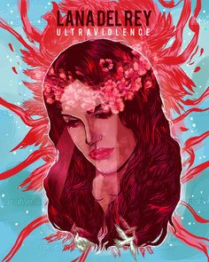 Lana Del Rey Poster by cucubaou on CreativeAllies.com