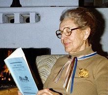 Sophie Bledsoe Aberle (21 July 1896 – October 1996) was a Native American anthropologist , physician and nutritionist. She received a Ph.D. in Genetics from Stanford University in 1927 and an M.D. from Yale University in 1930.[1] Aberle studied Native Americans in the southwestern U.S. She, and Dr. Gerty T. Cori, were appointed to the first National Science Board by President Truman in 1951. [2]