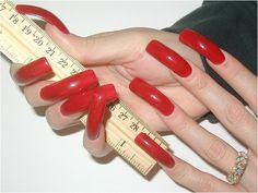 gebogen nagels