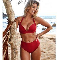 c941e140f4507 Brenda Bikini. Awesome Stuff Store. 2017 Sexy Crochet Bikini Women Swimwear  Lace Micro Bikini Push up Women Swimsuit Brazilian Bikini Set bathing suits  ...