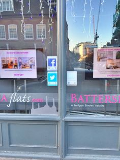 Special thanks to Jessica at Battersea Flats for sending in this fab picture of their tags in action Estate Agents, Locker Storage, Action, Windows, Flats, Home Decor, Loafers & Slip Ons, Group Action, Window
