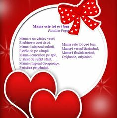 Mothers Day Crafts, Happy Mothers Day, Sf Constantin, 8 Martie, School Lessons, Diy And Crafts, Poems, Kids, Poetry