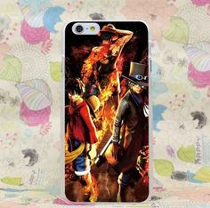 One Piece Portgas D. Ace Sabo Luffy Fantastic Team iPhone 4 5 6 7 Plus Case  #One Piece #Portgas D. Ace #Sabo #Luffy #Fantastic Team #iPhone 4 5 6 7 Plus Case