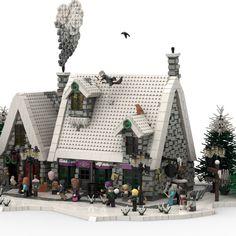 Lego Hogwarts, Lego Winter, Lego Mecha, Lego Castle, Lego Star Wars, Star Trek, Cool Lego Creations, Lego Design, Lego Architecture