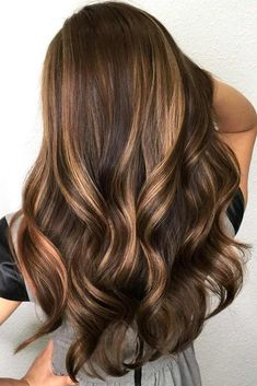 Trendy Hair Highlights Picture Description Gorgeous hair color! www.ledyzfashions… #haircolor #balayage #ombre - #Highlights/Lowlights https://glamfashion.net/beauty/hair/color/highlights-lowlights/trendy-hair-highlights-gorgeous-hair-color-www-ledyzfashions-haircolor-balayage-ombre/