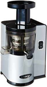 Omega Vertical Slow Masticating Juicer Makes Continuous Fresh Fruit and Vegetable Juice at 43 Revolutions per Minute Features Compact Design Automatic Pulp Ejection, Silver Juicing Recipes For Beginners, Best Masticating Juicer, Wheatgrass Juicer, Juicer For Sale, Juicer Reviews, Spinach Juice, Blenders & Juicers, Cold Press Juicer, Best Juicer