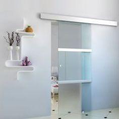 Lasinen liukuovi, 229,95€. Tämä korkealaatuinen liukuovi on elegantti ja tyylikäs valinta kotiin ja kylpyhuoneeseen. Ilmainen toimitus. #liukuovi