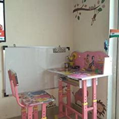 Furniture First Hello Kitty Pink Kids Engineered Wood Study Table And Chair Set Amazon In Electronics In 2020 Study Table And Chair Kids Study Table Study Table