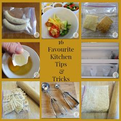 Check out these 16 favourite Kitchen Tips & Tricks!