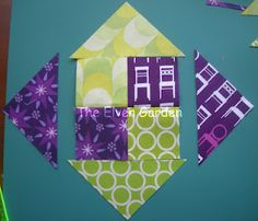 Snail Trail Block Tutorial