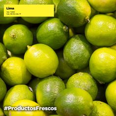 Lima, ideal para darle un toque especial a tus cócteles #ProductosFrescos