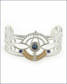 Frank Lloyd Wright Jewelry Shop Window Cuff Bracelet